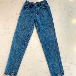 Vintage Jonathan high rise acid wash jeans